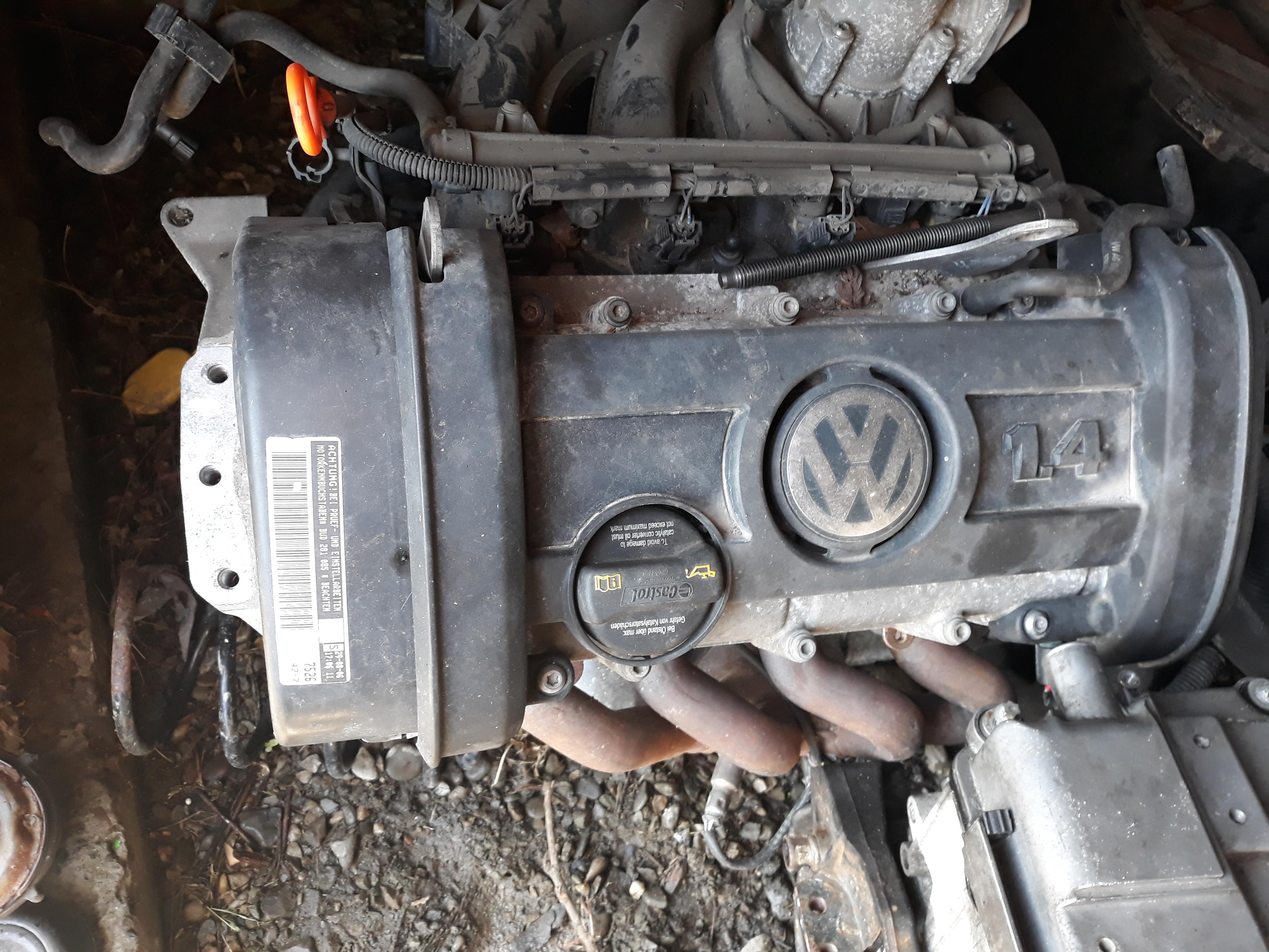 Motor VW 1,4 BUD